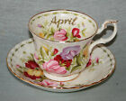 ROYAL ALBERT ' FLOWERS OF THE MONTH ' TEA SET & TABLEWARE - ENGLISH BONE CHINA