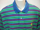 POLO RALPH LAUREN Mens Polo Shirts Classic Fit Green Stripes size sz S NEW NWT