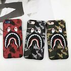 Apple iPhone Bape A Bathing Ape Shark Logo Phone Cases 6/6s 7/7...