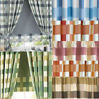 """CHECKERS clearance kitchen roller blinds 2ft - 6ft /24 - 72"""" with check detail"""