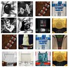 Star Wars I Am Jedi Rebel Character Intergalactic Character Melamine 4 Plate Set