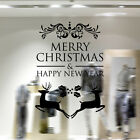 Wall Stickers Home Business Decor Removable Art Vinyl Decal Christmas Decoration