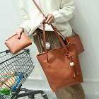 3pcs New Fashion Women PU Leather Spring Handbag Shoulder Bag Clutch Handy Bag