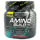 Amino Build, Muscle Tech, Fruit Punch, 0.59 lbs (267g), pre, intra and post-work