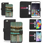 faux leather wallet case for many Mobile phones - cardioid