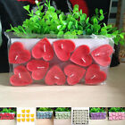 10 PCS Heart Shaped Floating Candles Romantic Wedding Cocktail Party Decoration