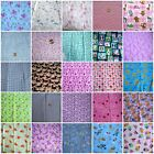 Fabric Abby Stars Valentine Dogs Cats Tinkerbell Cupcakes Flowers Animals OZ