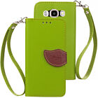 For Samsung Galaxy G360 G530 G386 Luxury Soft Leather Wallet Card Case Cover