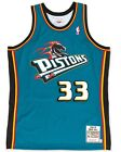 Grant Hill Detroit Pistons Mitchell & Ness Authentic 1998 Blue NBA Jersey on eBay