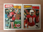 Topps NFL Football 1987 Cards - Your Choice of Cards