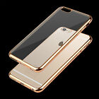 NEW Ultra Thin Crystal Clear Rubber TPU Case Cover for Apple iPhone 6 6s 7 plus