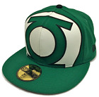 New Era 59Fifty Green Lantern Oversized Logo Green Fitted Cap