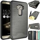 For Asus Zenfone 3 ZE552KL Case Slim Kickstand Credit Card Hard Armor Skin Cover