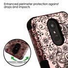 Hybrid Rubber Hard Skin TUFF Protective Case Cover +Pin For Samsung Galaxy Phone