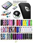 Hybrid Rubber Hard Skin TUFF Protective Case Cover +Pin For