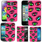 pattern case cover for many Mobile phones - blush mixed eyelashes