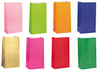 Colour Paper Party Loot Bags Gift Sweet Treat Candy Party Bag in 15 Colours