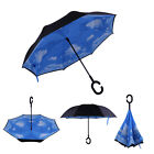 Windproof Double Layer Upside Down Inside Inverted Umbrella Reverse C-Handle MAX
