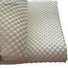 Egg Crate Convoluted Foam Mattress Pad 1'' Thick Twin/Full/Queen Mattress Topper