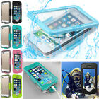 Waterproof Shockproof Case Clear Swimming Cover For Apple iPhone 7 6s 6 Plus New
