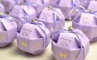 100pc Wedding Birthday Favor Party Baby Shower Box Candy Boxes with Ribbon +Bell