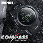 SKMEI Outdoor Sports Compass Watches Hiking Men Watch Digital LED Sports Watches