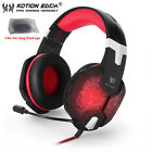 G1000 Deep Bass Gaming Headphone Stereo Surround Headset 3.5mm+USB  With Mic LED