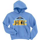 "Nikola Jokic Denver Nuggets ""Logo"" shirt Hooded SWEATSHIRT HOODIE on eBay"