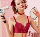 New Tied Rope Unwire Adjustment Up Bras & Panty Bra Sets 32 34 36 A B Cup 713002