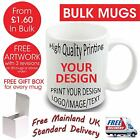 Personalised Business Custom Photo Mug Cup Image Text Wholesale Bulk Promotional