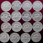 CANADA 5 CENTS BEAVER ANIMAL COIN VARIOUS DATES 1968 1969 1975... 1997 2001