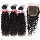 Brazilian Virgin Human Curly Black Hair Weave EXTENSION,100g, 18""