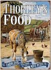 THORLEY'S FOOD FARM STABLE STALLION HORSE FOAL PONY TIN SIGN METAL PLAQUE 680