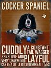 COCKER SPANIEL ANIMAL METAL PLAQUE SIGN PRINT PICTURE OTHER BREEDS LISTED 704