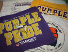 Vintage Minnesota Vikings Touchdown Rally Towel Banner Flag $7.0 USD on eBay