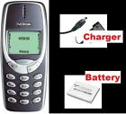 Original Nokia 3310 MOBILE PHONE BOXED NEW WARRANTY FIRST CLASS UK STOCK