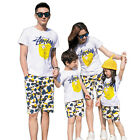 New Fashion Summer Family Outfits cotton short sleeve T shirt & camouflage Pants