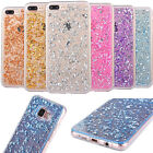 Ultra Slim Clear Sparkly Bling TPU Silicone Soft Case Cover Goldleaf Patterns