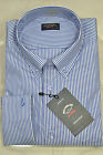 PAUL & SHARK HEMD SHIRT BOTTON DOWN 3020SFW COL. 008 LINES SHIRT WITH POCKET