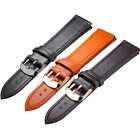 Leather Wrist Watch Band Strap Sports Replacement Bracelet Buckle Womens Mens