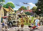 D DAY 1944 SPITFIRE TANK JEEP VINTAGE NOSTALGIC STYLE METAL SIGN TIN PLAQUE 435