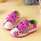 NEW Fashion Kid's GIRLS Floral Sports Casual Canvas Sneakers Shoes