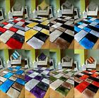 NEW LUXURIOUS BRIGHT MODERN SILKY SOFT THICK CHUNKY PILE SHAGGY AREA RUG MAT