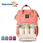 Sunveno Brand Mummy Maternity Nappy Bag Large Capacity Baby Bag Travel Backpack