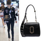 Women's Faux Leather Stud Small Single Shoulder bag Purse Crossbody Bag Cute