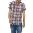 WRANGLER NEW Mens S/S 1 Pkt Shirt Off White  BNWT