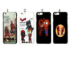 Deadpool Marvel Comic Protector Hard Case Cover For Apple iphone 6 6 PLUS
