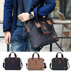Canvas Single Shoulder Bag Messenger bag Crossbody bag Retro Satchel Briefcase