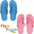 NEW LADIES WOMENS UNISEX BOYS GIRLS SUMMER BEACH FLIP FLOPS POOL SANDALS ALL SIZ