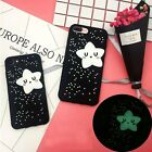 Cute 3D Luminous Star Soft Silicone Phone Case Cover for iPhone 7 6S 6 plus